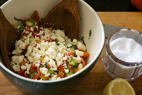 Tomato Salad with Feta